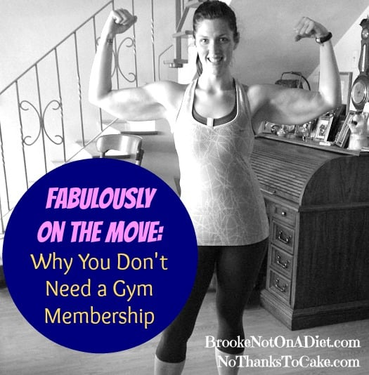 FOTM: Why You Don't Need a Gym Membership | No Thanks to Cake