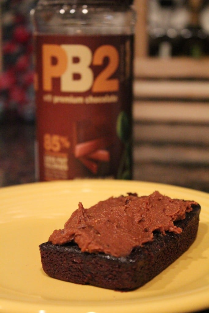 Jenny Craig Brownie with Chocolate PB2 | No Thanks to Cake