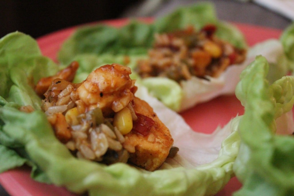 Jenny Craig Southwest Lettuce Wraps | No Thanks to Cake