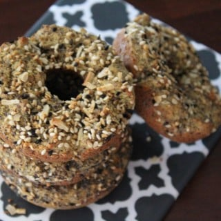 Healthy Savory Everything Donuts