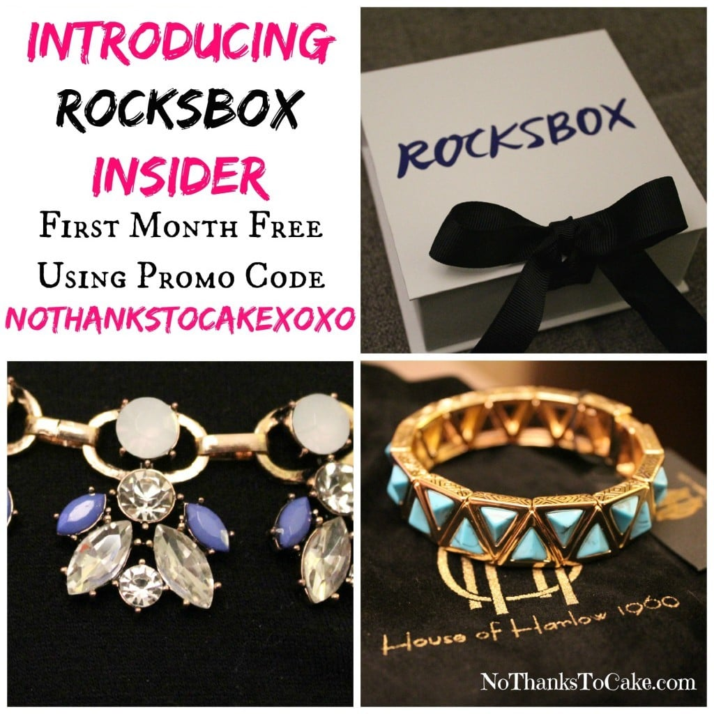Rocksbox Insider | No Thanks to Cake