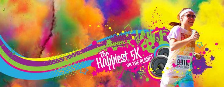 Color Run | No Thanks to Cake
