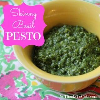 Skinny Basil Pesto