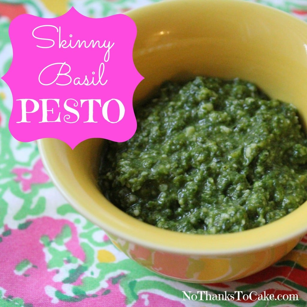 Skinny Basil Pesto | No Thanks to Cake