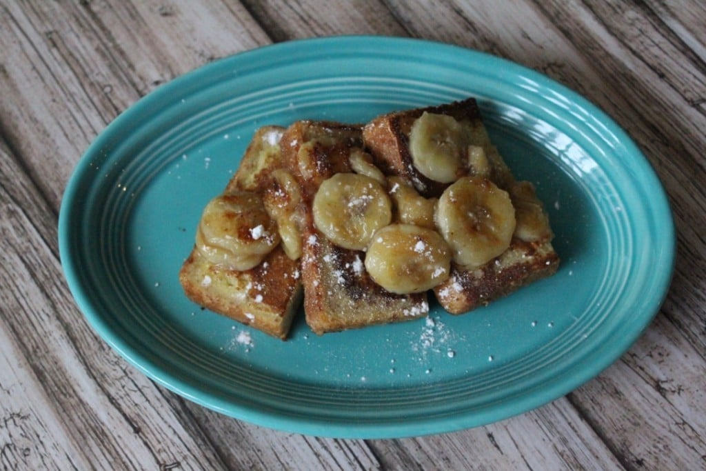 Jenny Craig Volumizing: Bananas Foster French Toast | No Thanks to Cake