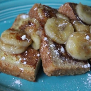Jenny Craig Recipe Creation:  Bananas Foster French Toast