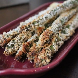 Baked Asparagus Fries | No Thanks to Cake