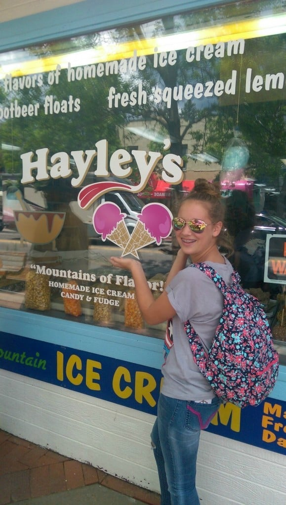 Hayley's Ice Cream | No Thanks to Cake