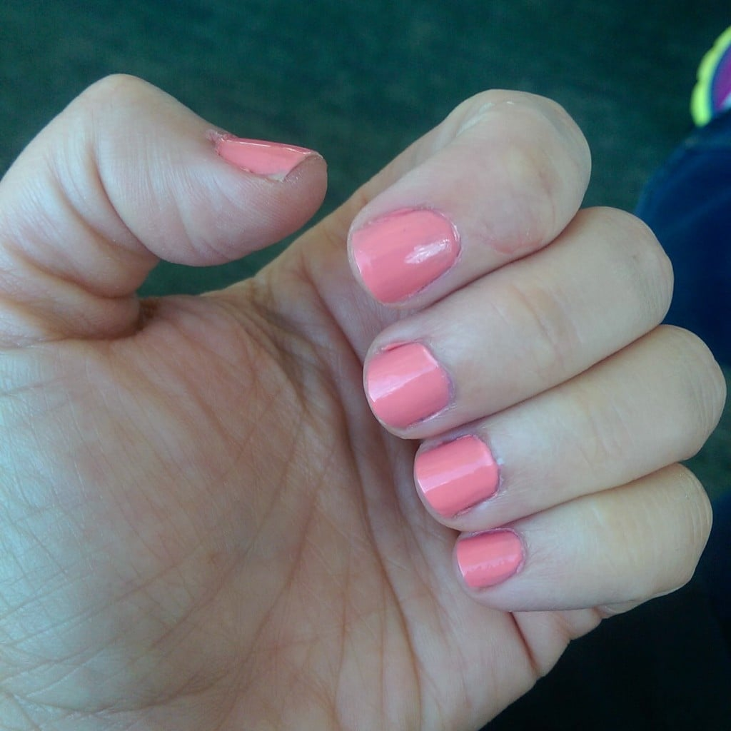 Essie Peach Side Babe | No Thanks to Cake