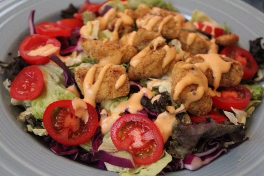 Bang Bang Chicken Salad | No Thanks to Cake