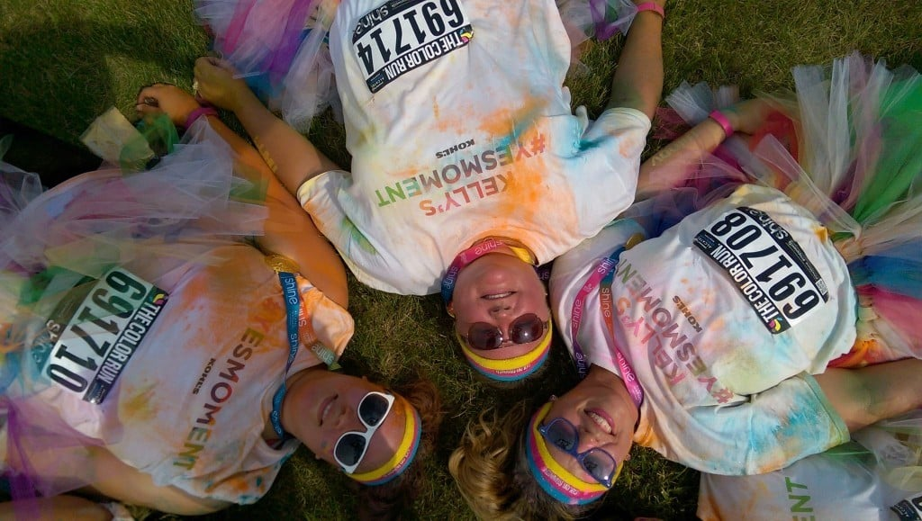 #ColorMeKohls - Milwaukee Color Run | No Thanks to Cake