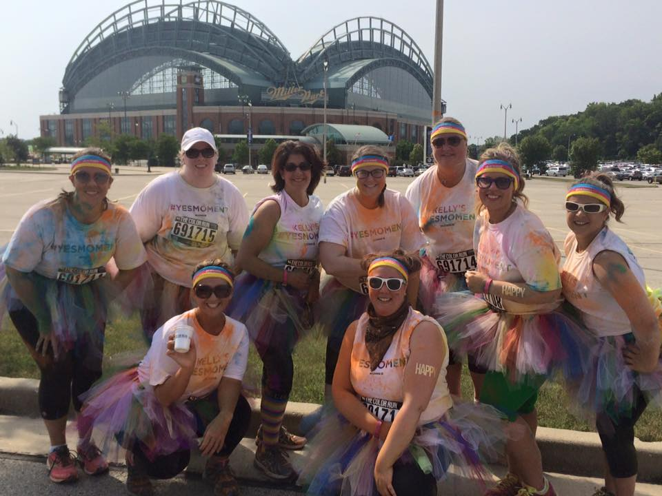#ColorMeKohls The Color Run Milwaukee | No Thanks to Cake