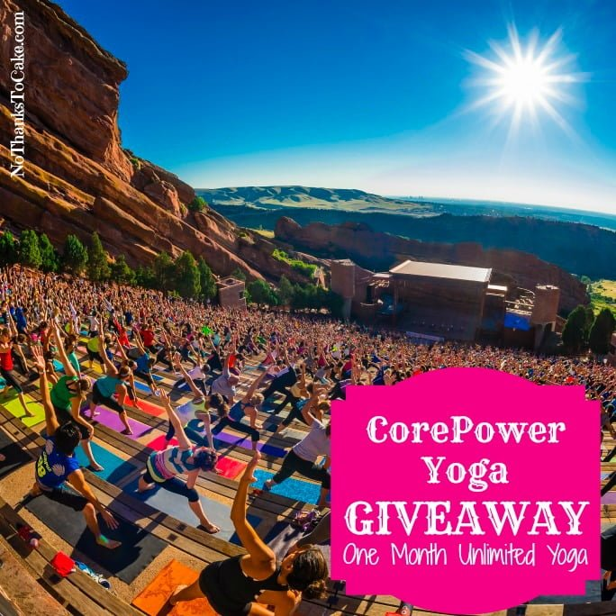 Core Power Yoga Giveaway | No Thanks to Cake
