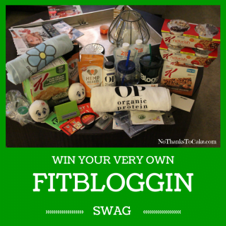 My Annual Fitbloggin Swag {GIVEAWAY}