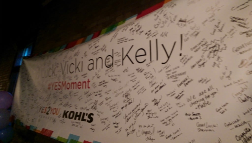 Milwaukee Kohls Yes Moment with Kohls Day One | No Thanks to Cake