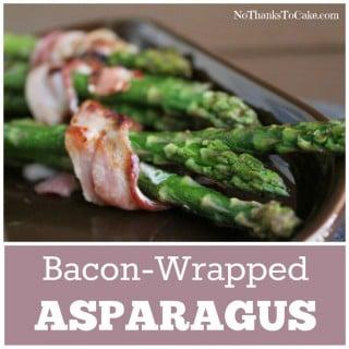 Bacon Wrapped Asparagus | No Thanks to Cake