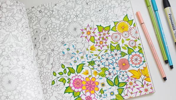 Adult Coloring Book | No Thanks to Cake