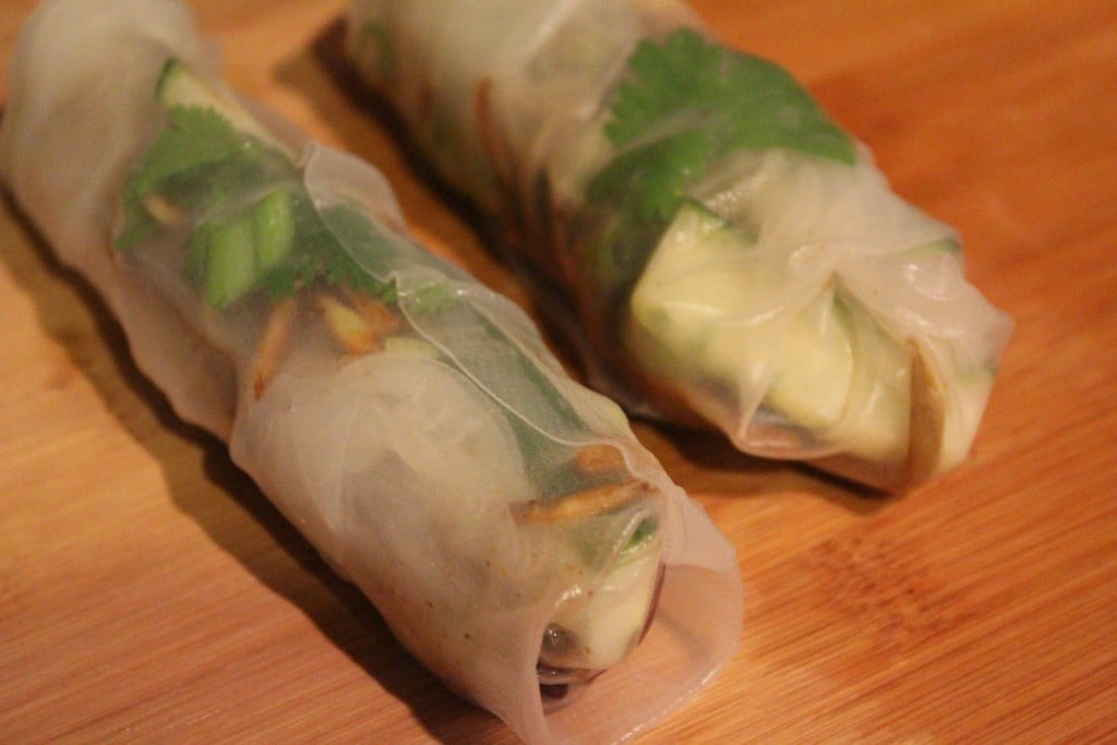 Moo Shu Pork Summer Rolls | No Thanks to Cake