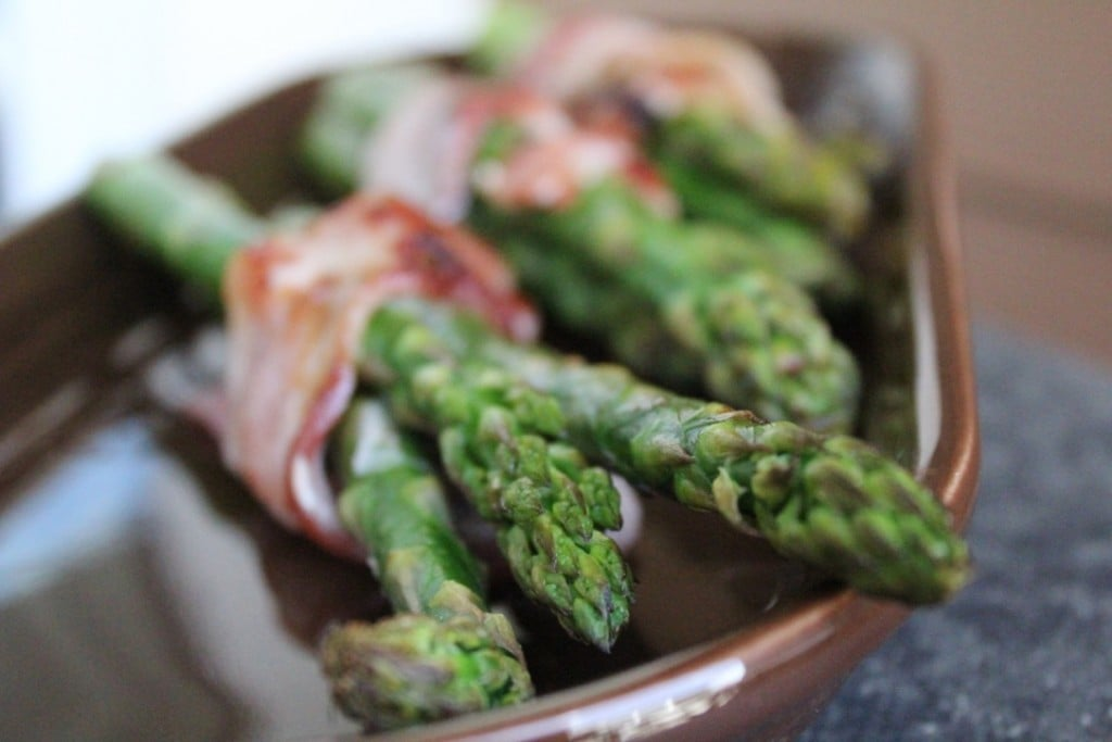 Bacon Wrapped Asparagus | No Thanks to Cake