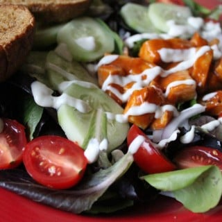 Jenny Craig Recipe Creation:  Buffalo Chicken Salad