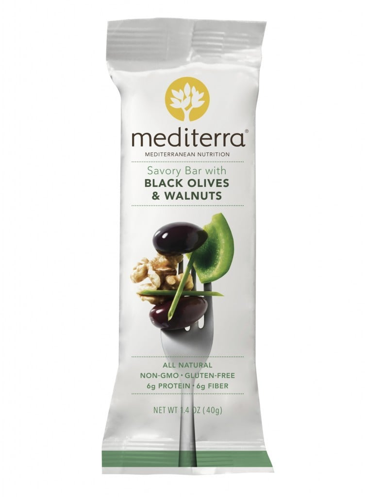 Mediterra Bar Black Olive and Walnut Bar| No Thanks to Cake