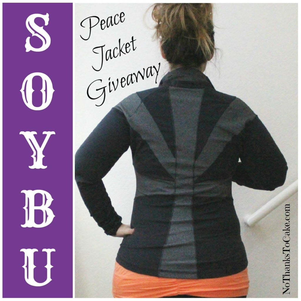 Soybu Giveaway Peace Jacket | No Thanks to Cake