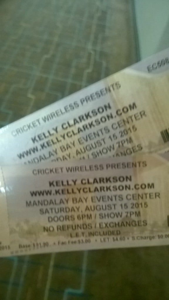 Kelly Clarkson Las Vegas | No Thanks to Cake