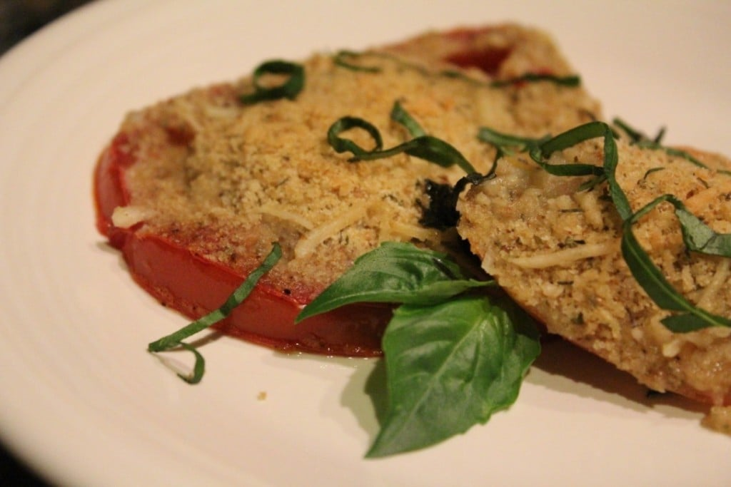Baked Heirloom Tomato Gratin | No Thanks to Cake