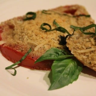 Baked Heirloom Tomato Gratin