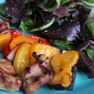 Pork Kabobs with Soy Ginger Marinade