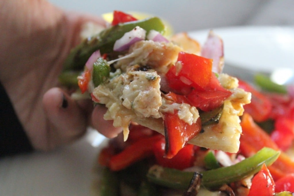 Jenny Craig Volumizing: Baja Chicken Fajita Quesadilla Pizza | No Thanks to Cake