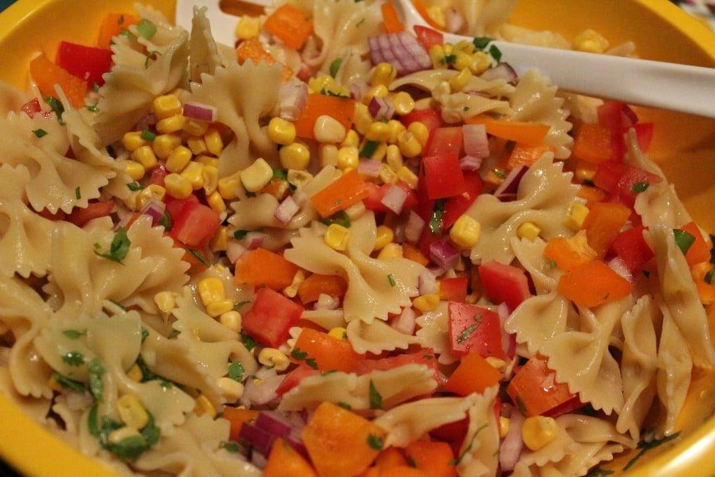 Fiesta Pasta Salad | No Thanks to Cake