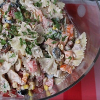 Fiesta Pasta Salad | No Thanks to Cake