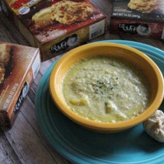 Skinny Broccoli Cheese Potato Soup | No Thanks to Cake