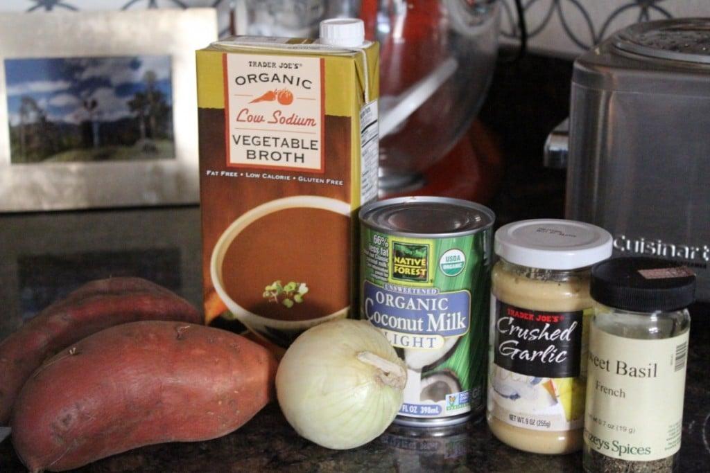 Slow Cooker Sweet Potato Soup | No Thanks to Cake