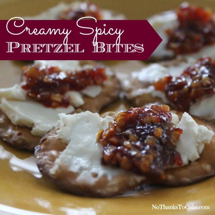 Creamy Spicy Pretzel Bites | No Thanks to Cake