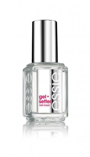 Essie Gel Setter | No Thanks to Cake