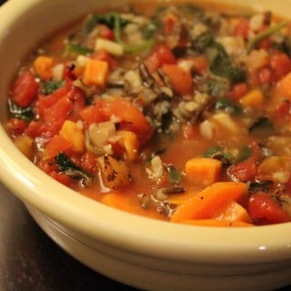 Jenny Craig Recipe Creation:  Turkey and Wild Rice Vegetable Soup