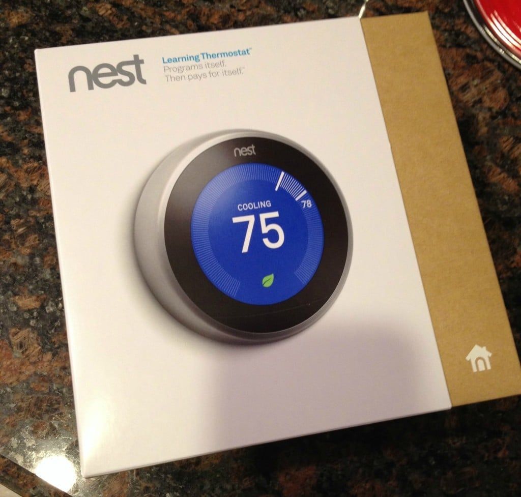 Nest Thermostat | No Thanks to Cake