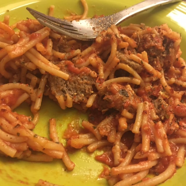 Jenny Craig Spaghetti and Meatballs | No Thanks to Cake