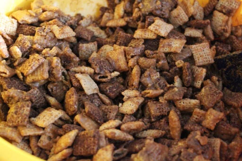 Buckeye Chex Mix | No Thanks to Cake