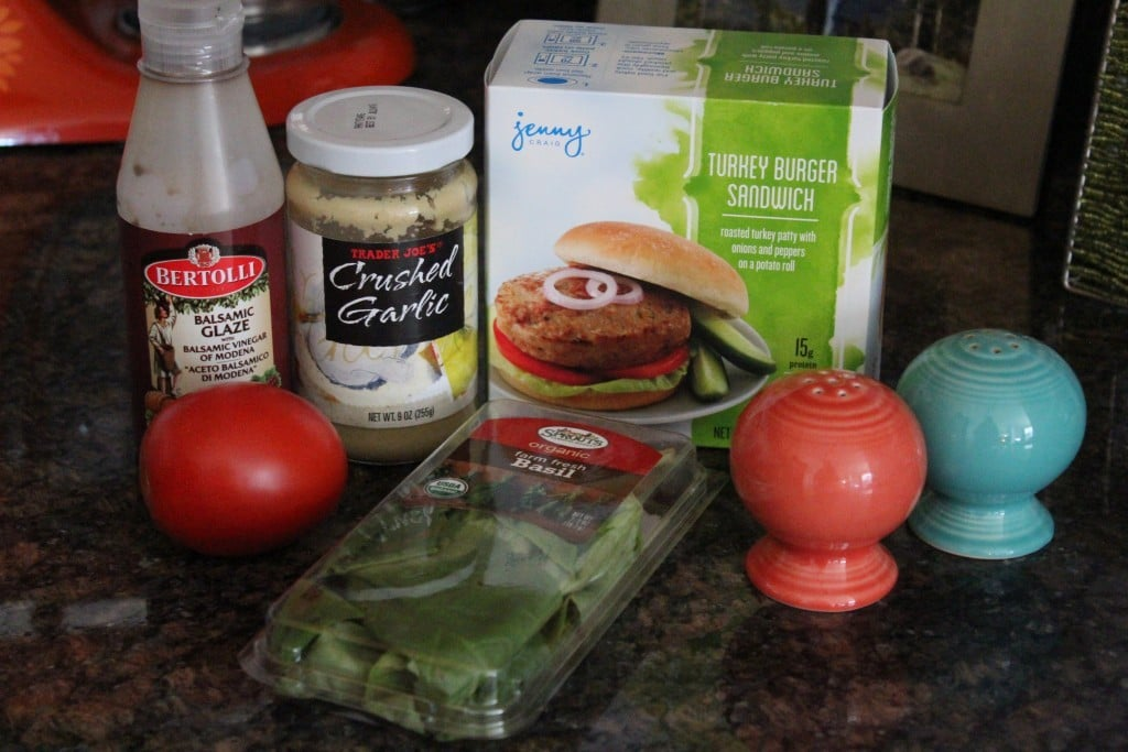 Jenny Craig Volumizing: Bruschetta Turkey Burger | No Thanks to Cake