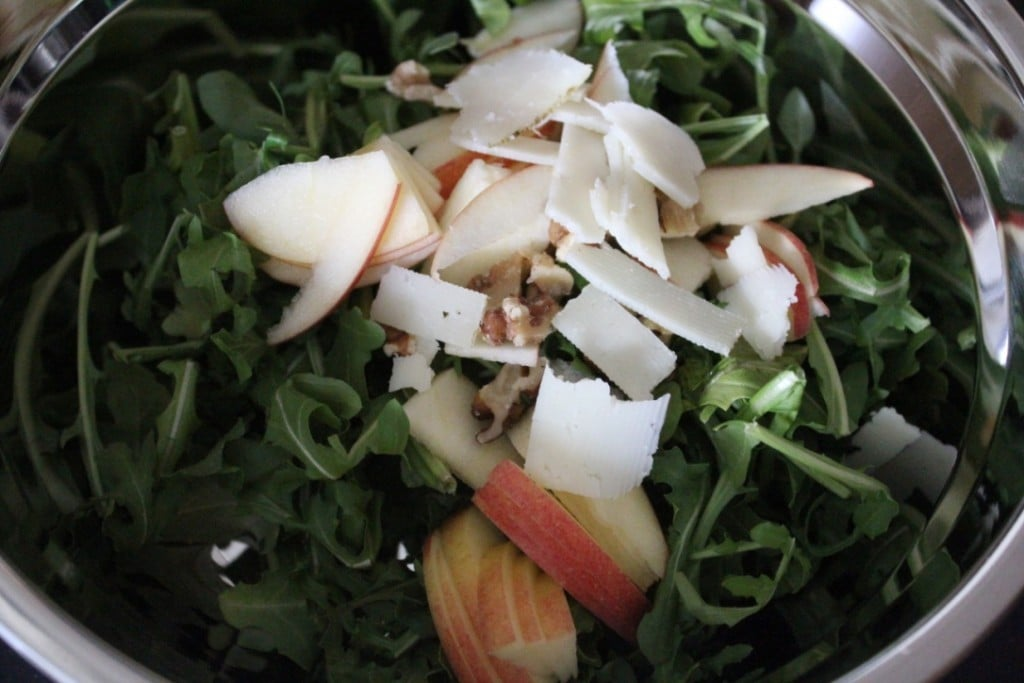 Manchego Apple Walnut Salad | No Thanks to Cake