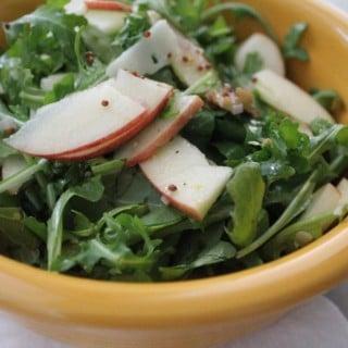 Manchego Apple Walnut Salad