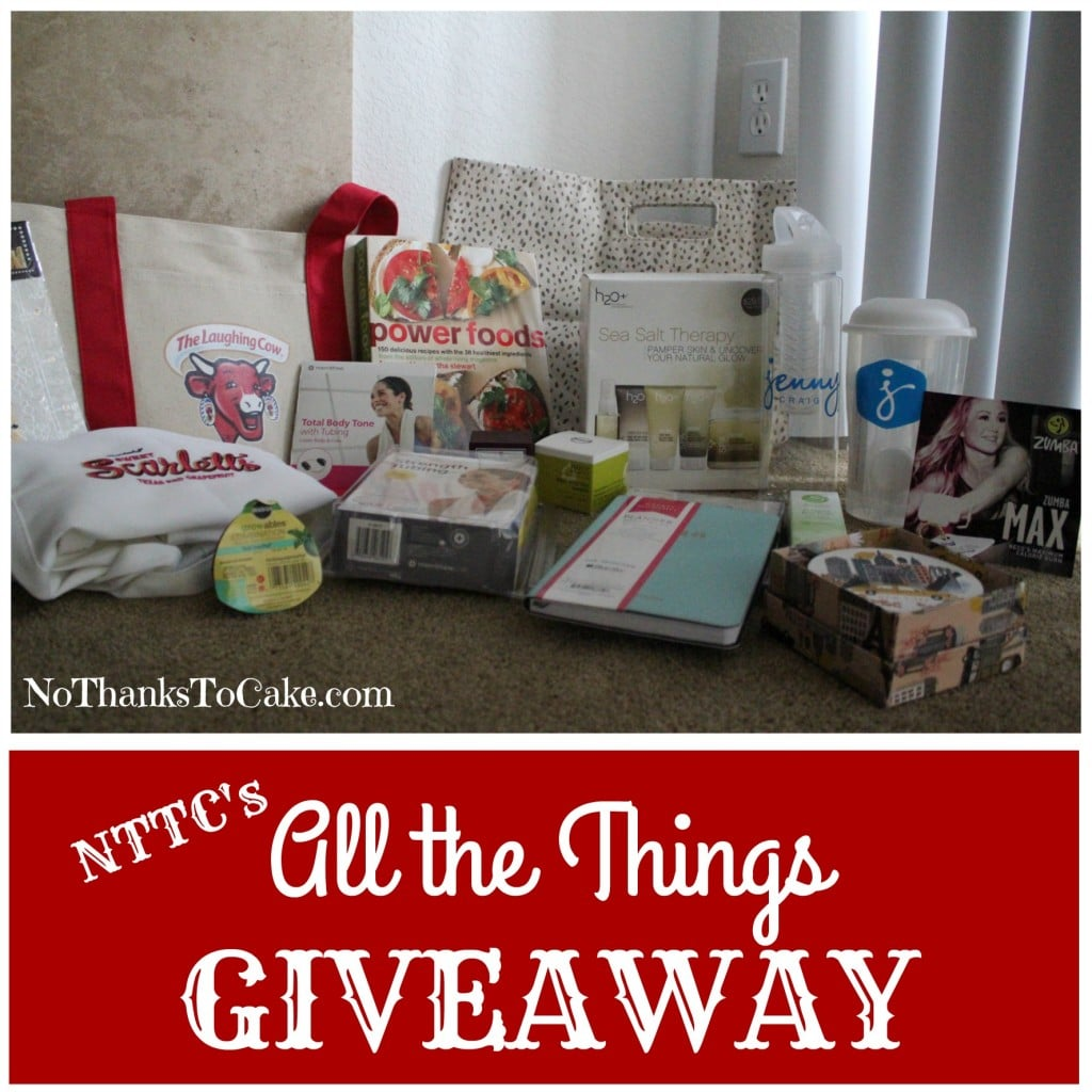 All the Things Giveaway | No Thanks to Cake