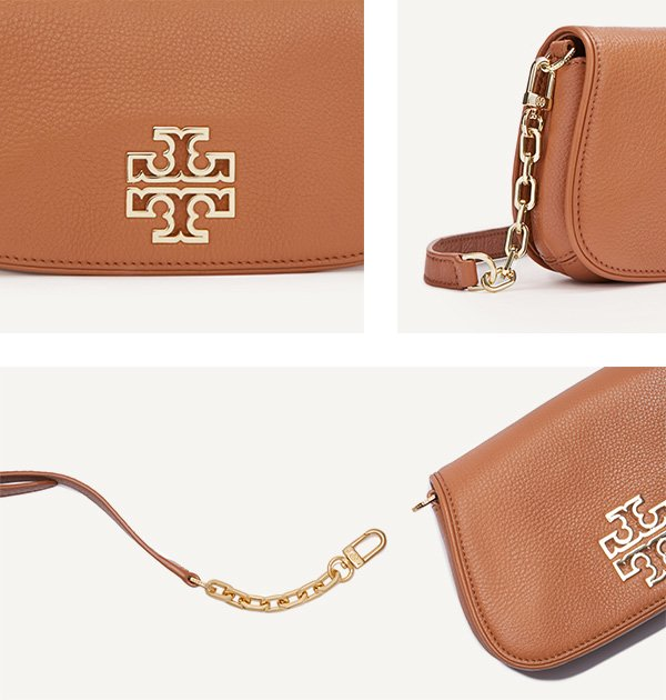 Tory Burch Britton Clutch | No Thanks to Cake