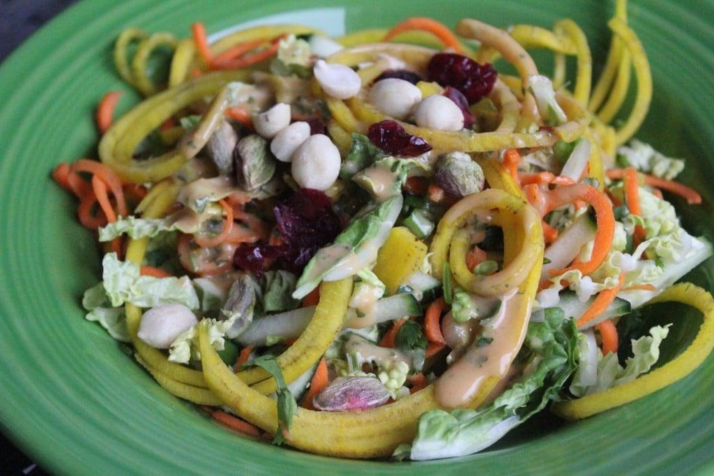 Tangled Thai Salad | No Thanks to Cake