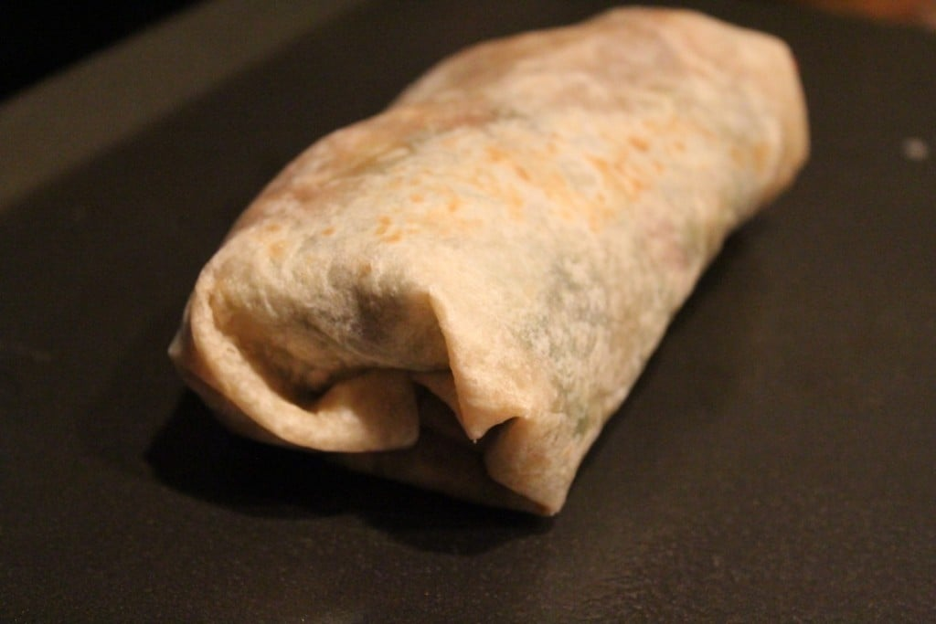 Jenny Craig Creation: Broccoli Stuffed Chicken Burrito | No Thanks to Cake