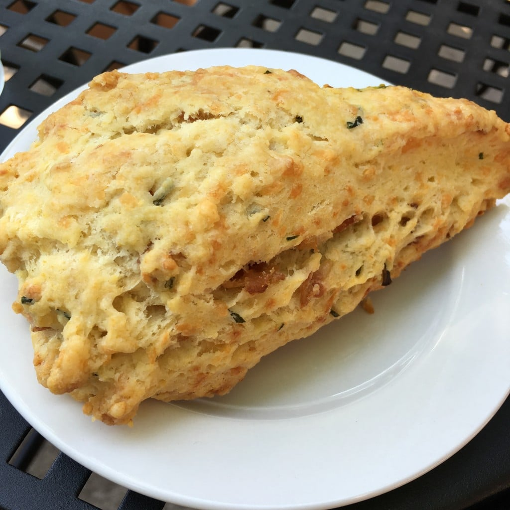 Baker and Nosh Asiago Scone | No Thanks to Cake