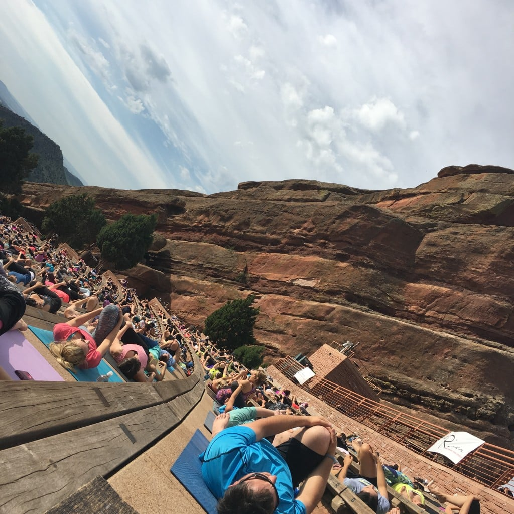 Yoga on the Rocks | No Thanks to Cake